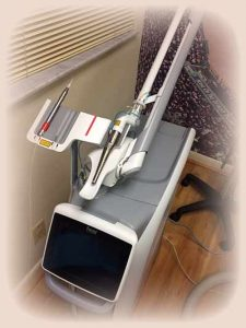 Dental Laser in the Boca Raton dental office of Clive Rosenbusch, DDS
